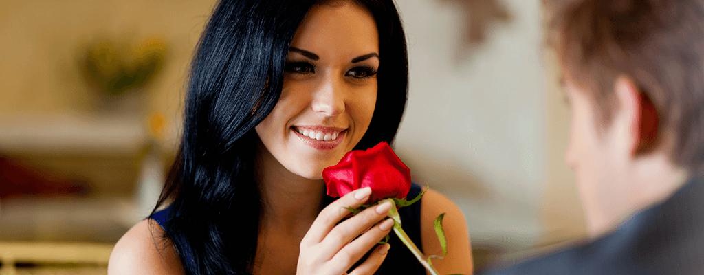 ricevere fiori in regalo