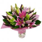 bouquet lilium rosa